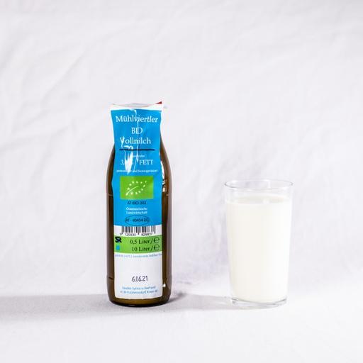Milch 0,5 Liter