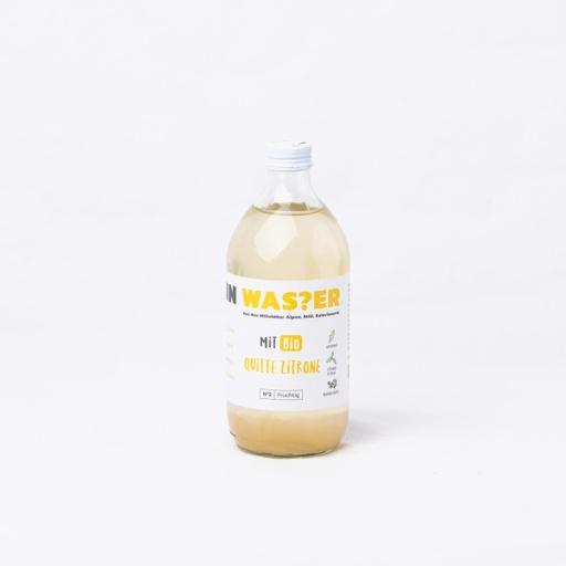 ICH BIN WAS?ER Quitte-Zitrone
