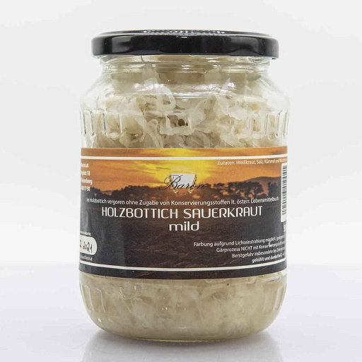 Sauerkraut mild
